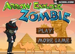 Juegos Flecha Explode Zombie