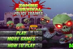 Juegos Zombie Survival Police Trainer